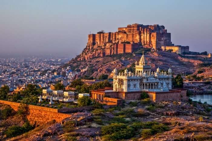 Sunrise at Mehrangarh Fort