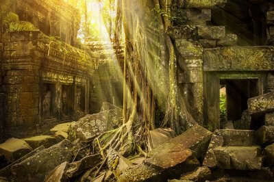 The ancient lost city of Monkey God