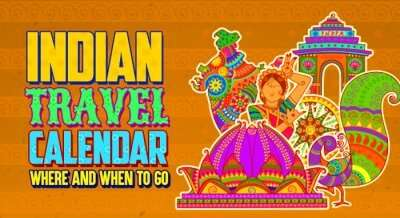 India Travel Calendar cover image