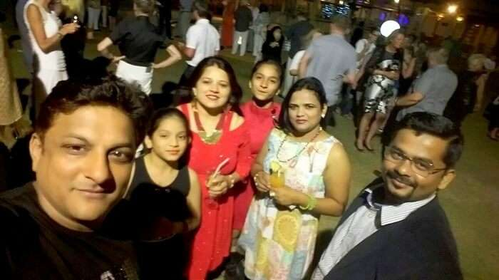 Christmas Party in Mauritius