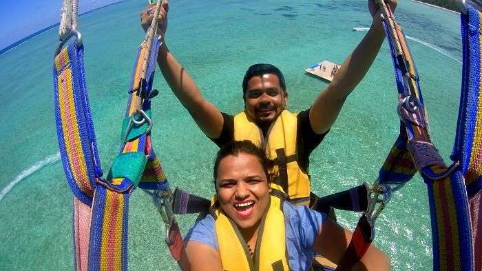 Water activities and fun at Ile aux Cerfs