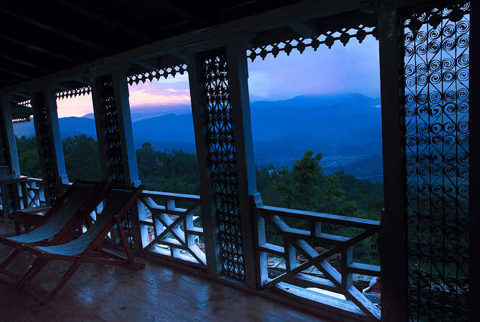Evenings in charming Kausani