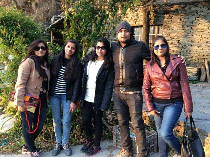 priyanka with friends