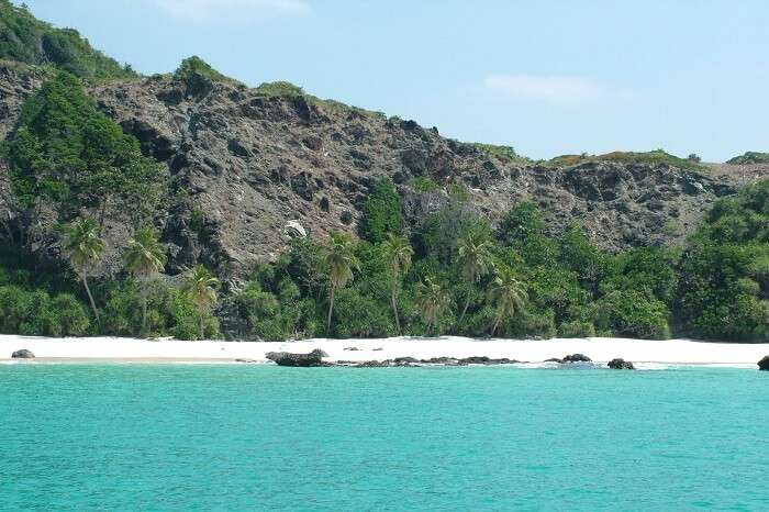 The beautiful looking Raman Bageecha Beach in Andaman