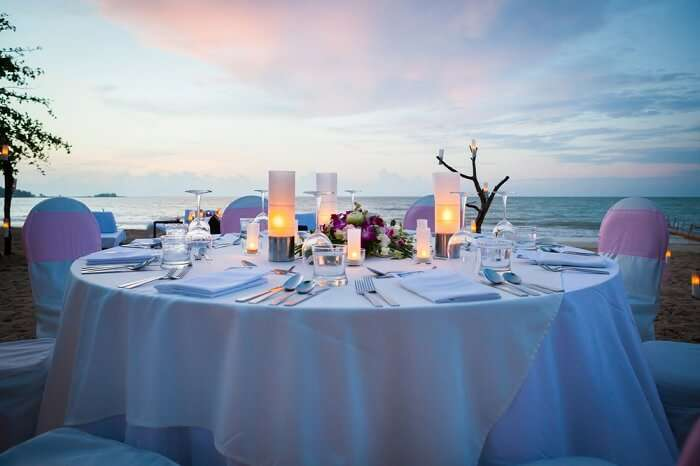 Candlelit Dinner in Bali