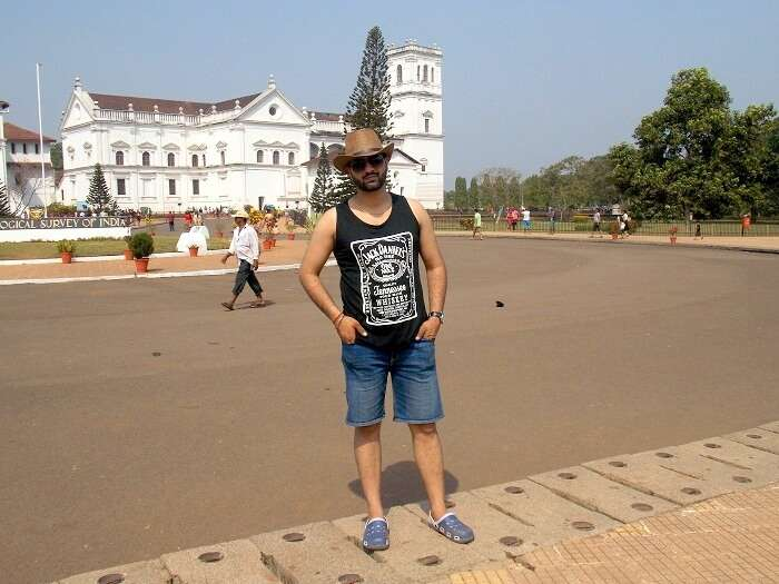 tourist in Goa