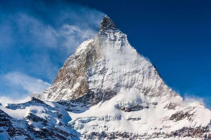 The mighty Matterhorn in Zermatt