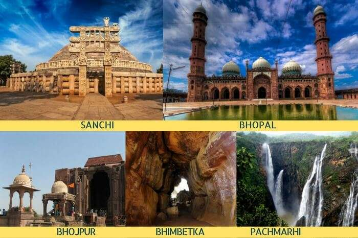 The best among MP tours covering Sanchi – Bhopal – Bhojpur – Bhimbetka – Pachmarhi