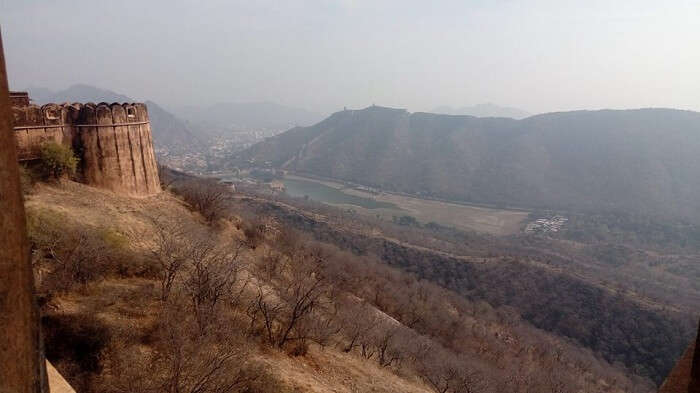 View of fort in Jaipur