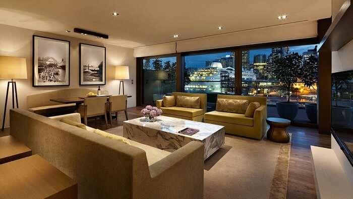 Park Hyatt Hotel in Sydney
