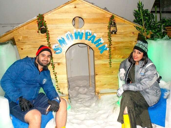 Snow adventure in Goa