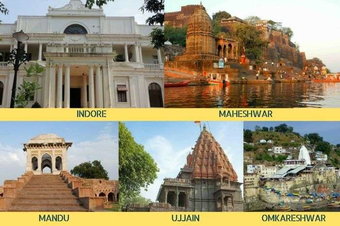 A spiritual tour of Madhya Pradesh covering Indore – Ujjain – Maheshwar – Omkareshwar – Mandu