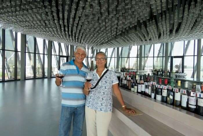 retired couple international travel