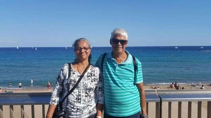 retired couple international road trip