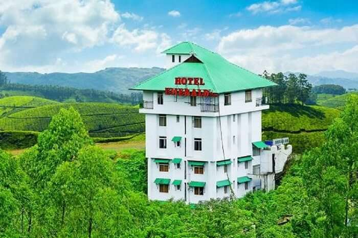 Hotel Emerald Inn Munnar decked up from all sides
