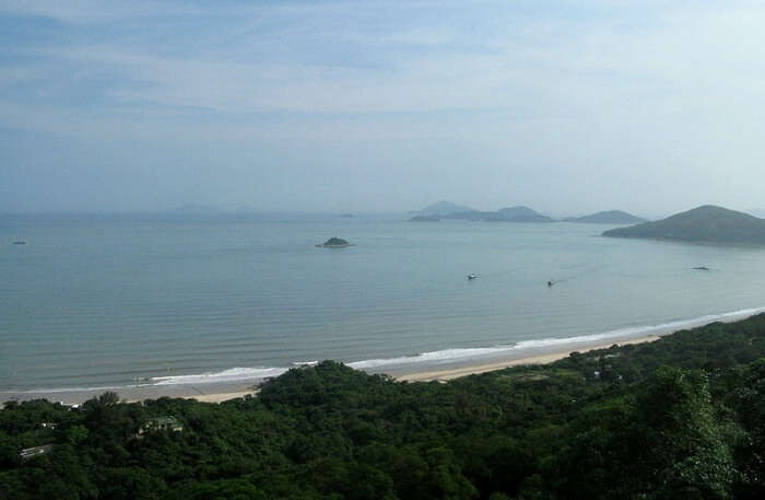Cheung Sha Beach View