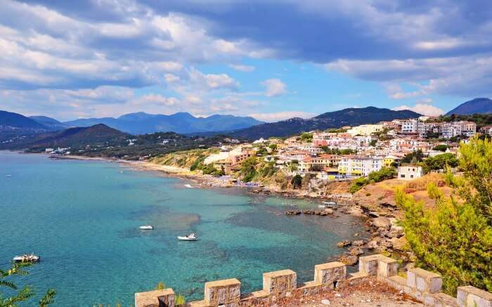 View of Cilento