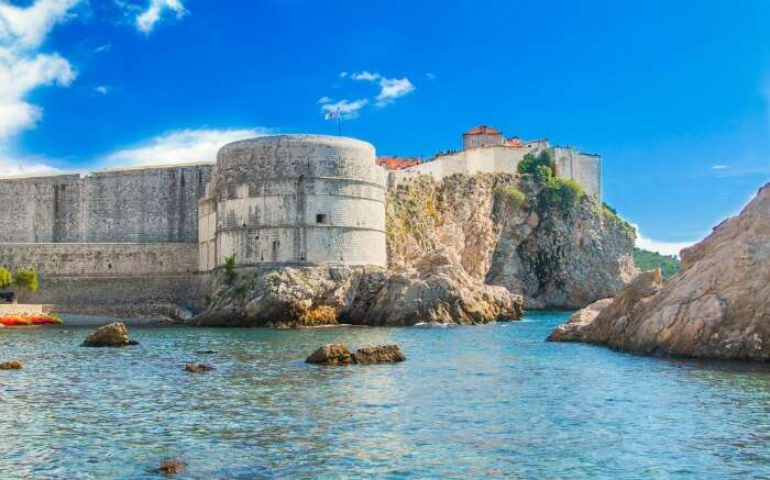 Bokar Fort in Dubrovnik
