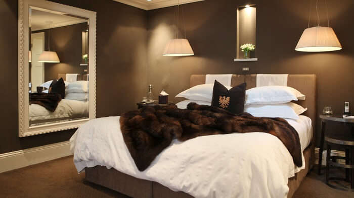 room of Eichardt's Private Hotel in Queenstown