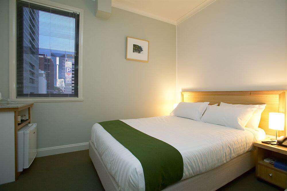 Hotel Sophia room with a window