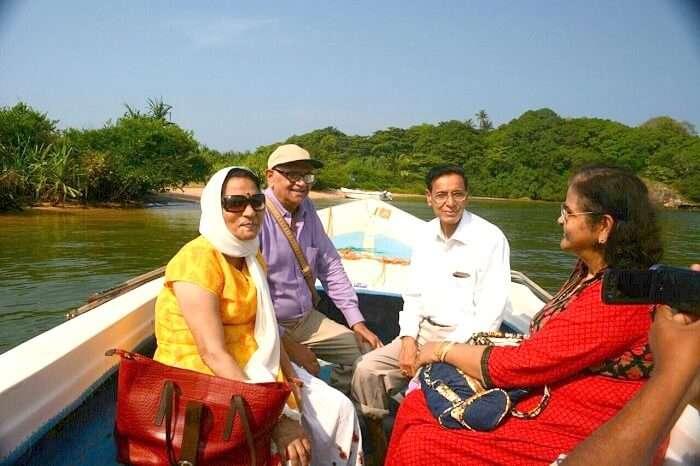 Madhu river cruise in Sri Lanka