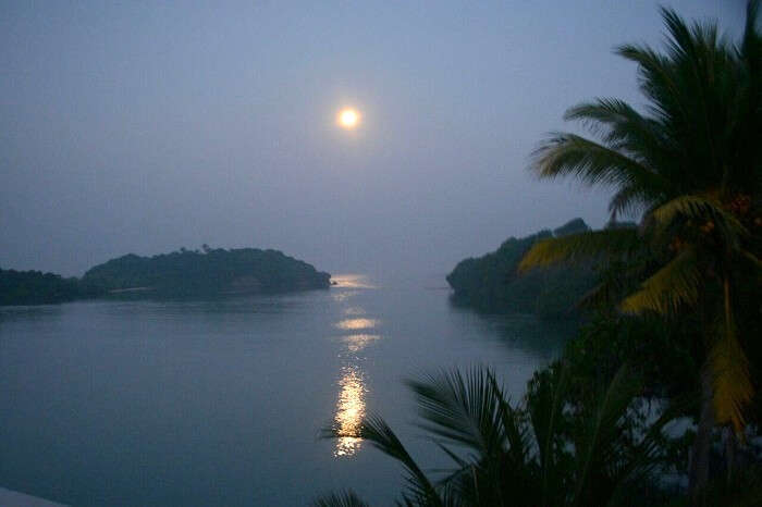 Sun rise in Sri Lanka