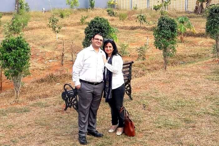 Visiting spice gardens in Munnar