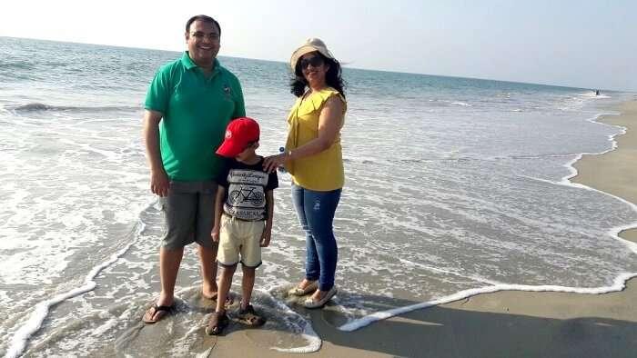 day out at cherai beach