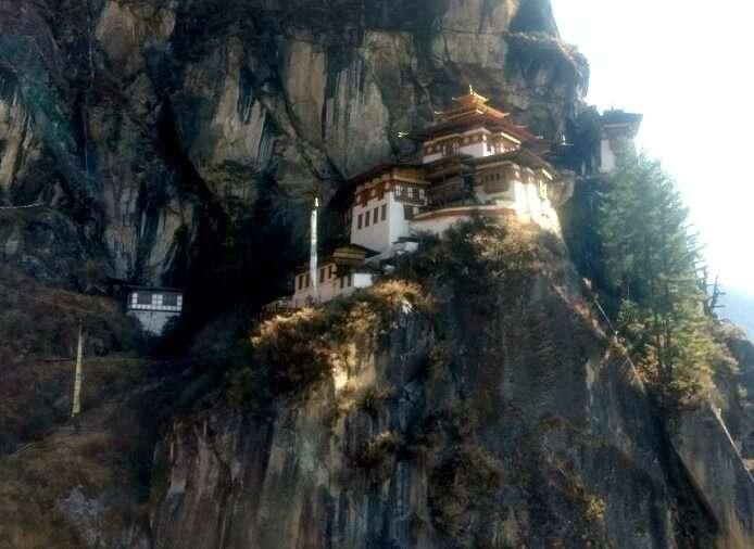 Paro valley in Bhutan