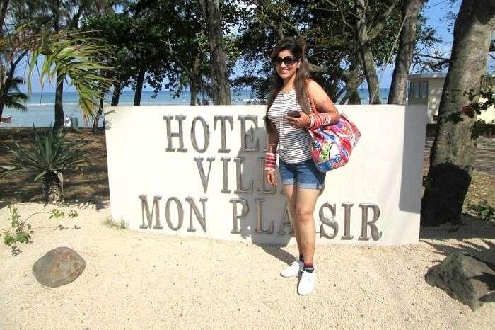 mauritius hotel villa mon plasir