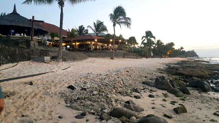 Villa Plasir beach