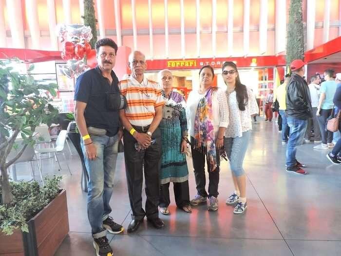 Group in Dubai Airport