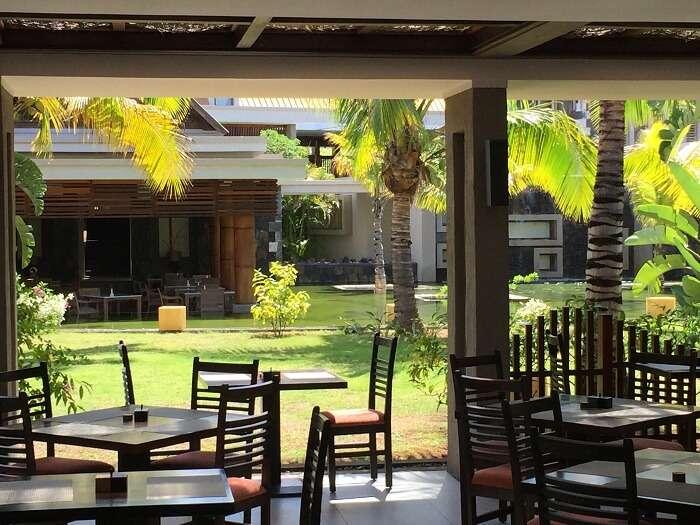 Maritime hotel in Mauritius