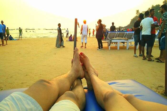 Beach fun in Goa