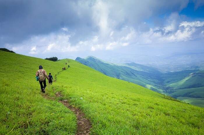hiking in Kudremukh Karnataka