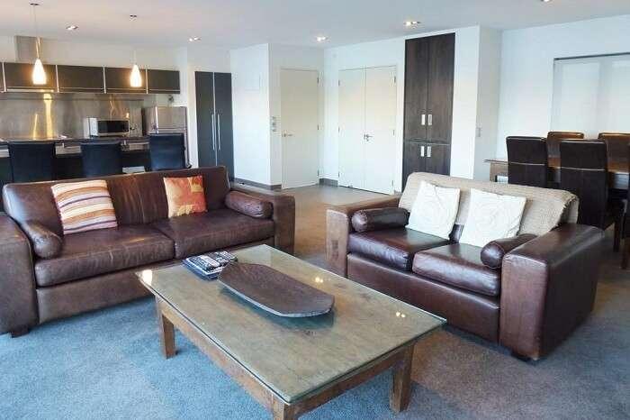 Room in Lakefront Apartments in Queenstown