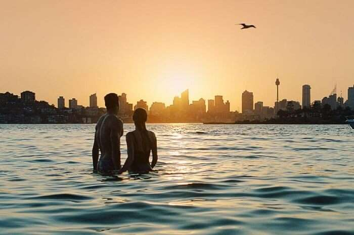 Romantic Evening Sydney Beaches