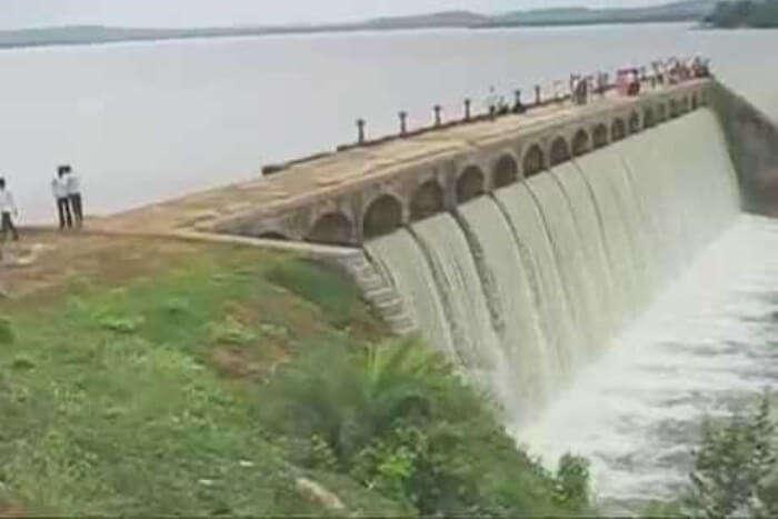 Pocharam Dam View