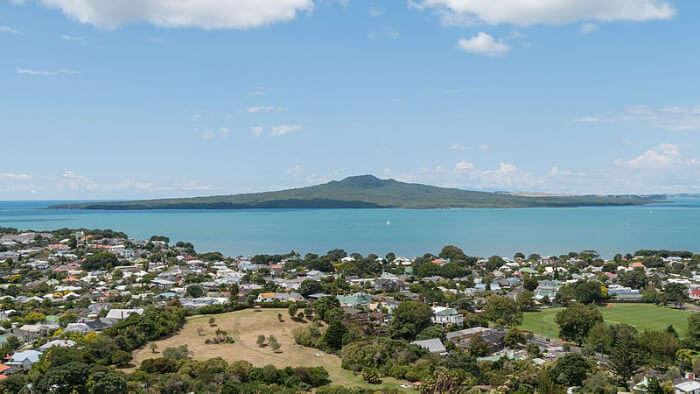 Rangitoto Island in Auckland
