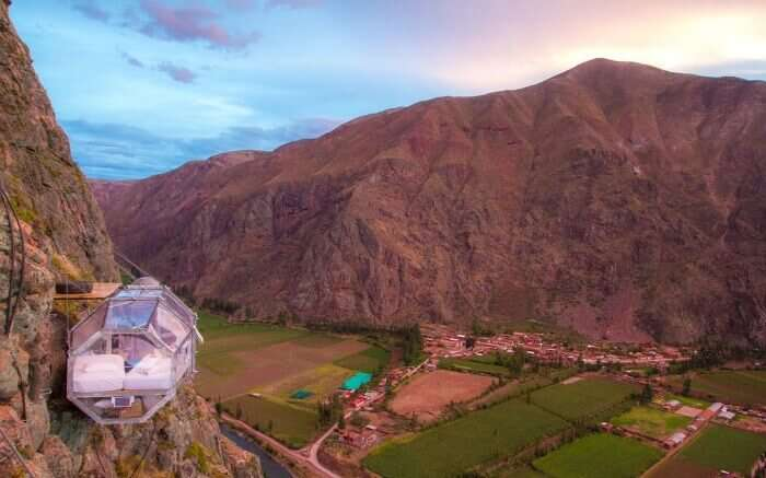 Skylodge in Peru