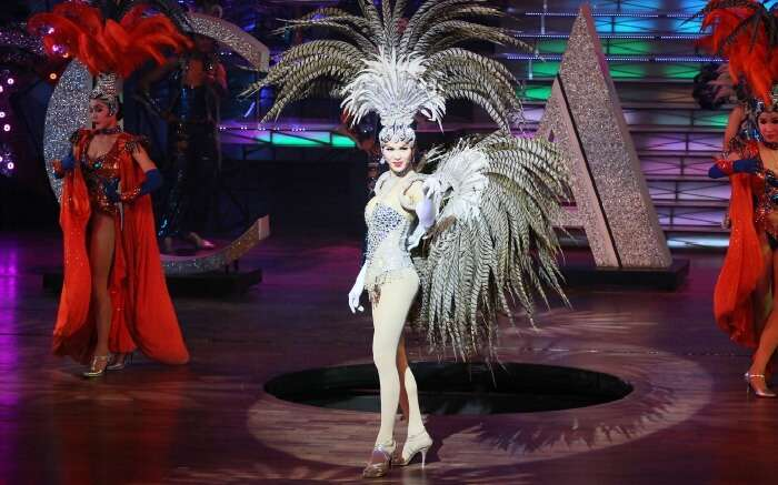 Cabaret show in Thailand
