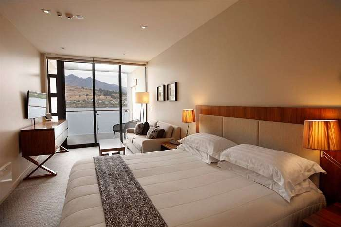 Room of The Rees Hotel in Queenstown