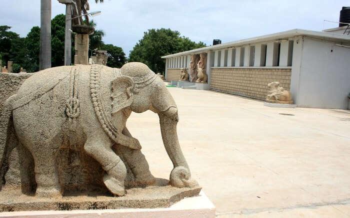 Archeological Museum in Hampi