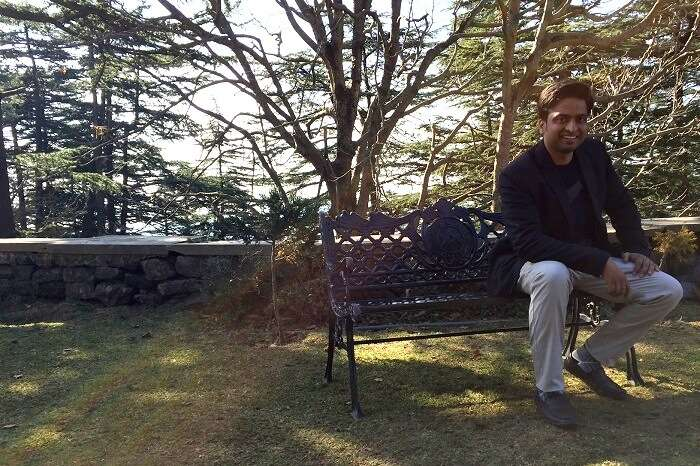 vaibhav at chail palace