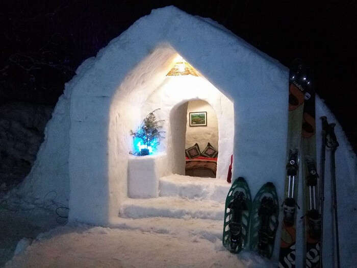 A stay option in Manali igloo