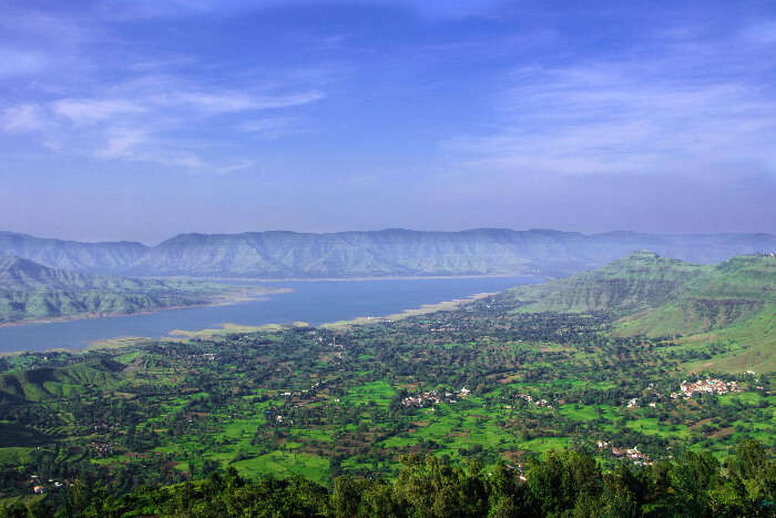 a beautiful view of Panchgani