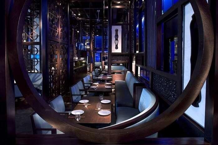 Hakkasan restaurant, Dubai