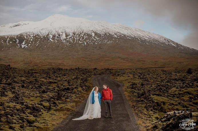 Snaefellsnes Peninsula Wedding, Iceland