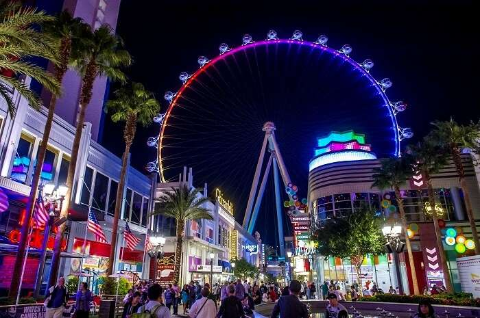 High Roller Ferris Wheel Las Vegas
