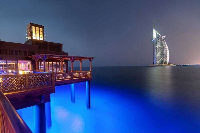 Pierchic oceanside restaurant, Dubai